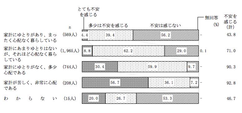 内閣府2010:不安